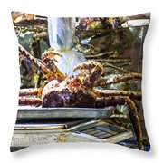 Next In The Row... Throw Pillow