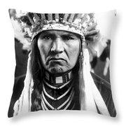 Nez Perce Native American Throw Pillow