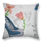 Nfl Cowboys Stiletto Throw Pillow