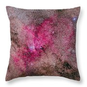 Ngc 6193 Nebulosity In Ara With Several Throw Pillow