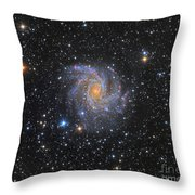 Ngc 6946, The Fireworks Galaxy Throw Pillow