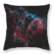 Ngc 6995, The Bat Nebula Throw Pillow