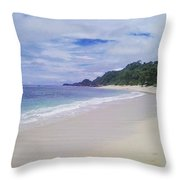 Ngliyep Beach Throw Pillow