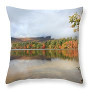 Color On The Lake  Throw Pillow