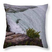Niagara Fall Edge Throw Pillow