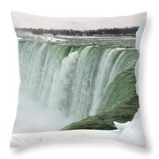 Niagara Falls 2 Throw Pillow