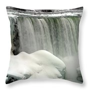 Niagara Falls 3 Throw Pillow