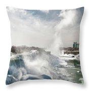 Niagara Falls 4601 Throw Pillow