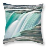 Niagara Falls Number 2 Throw Pillow