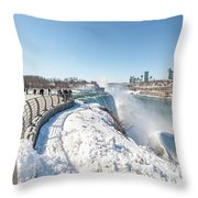 Niagara Falls Ny Throw Pillow