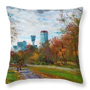 Niagara Falls Park Throw Pillow