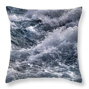 Niagara Falls Rapids Throw Pillow
