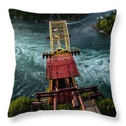 Niagara Falls The Whirlpool Throw Pillow