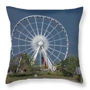 Niagara Skywheel Throw Pillow
