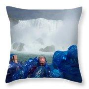 Niagra Falls Photographers Throw Pillow
