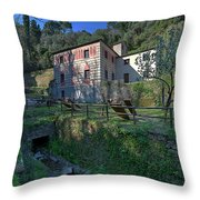 Niasca Heritage - Eremo Di Niasca Throw Pillow