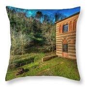 Niasca Hermitage IIi Portofino Park Passeggiate A Levante Throw Pillow