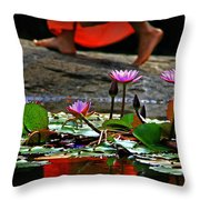 Nibbana Throw Pillow