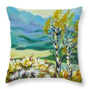 Nice Autumn Day Throw Pillow