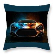 Nice Car Throw Pillow