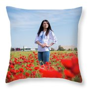 Nice Day Throw Pillow