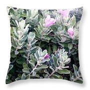 Nice Flowers  Throw Pillow