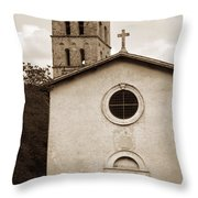 Nice Old Church For Wedding Throw Pillow