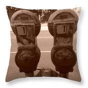 Nice Pair Throw Pillow