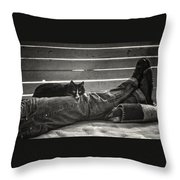 Nice Place If You Can Get It Throw Pillow