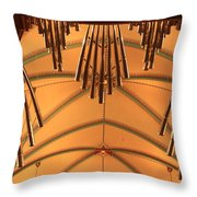 Nice Set Of Pipes Throw Pillow