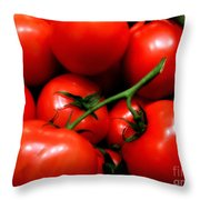 Nice Tomatoes Baby Throw Pillow