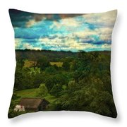 Nice Weather For Trolls In The Shire Today Throw Pillow