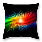 Nice Yoga Towel Throw Pillow