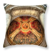 Niche Inlay 2-our Lady Of Victory Basilica Throw Pillow