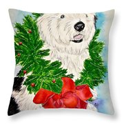 Nicholas Christmas 2013 Throw Pillow