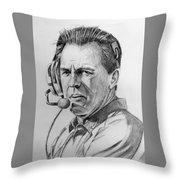 Nick Saban 1217152 Throw Pillow