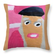 Nicki Minaj Throw Pillow