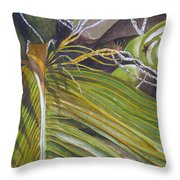 Nick's Coconuts Throw Pillow