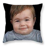 Nicolas - No H Throw Pillow