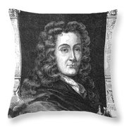 Nicolas L�mery, French Chemist Throw Pillow