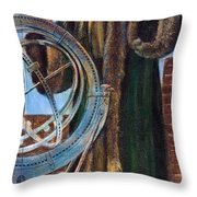 Nicolaus Copernicus Throw Pillow