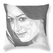 Nicole Scherzinger Throw Pillow