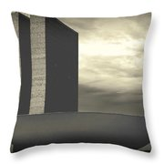 Niemayer Throw Pillow