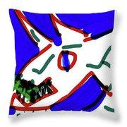 Nietzsche Poster Throw Pillow