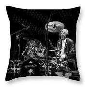 Nigel Olsson Throw Pillow by Chris Cousins