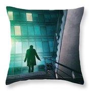 Night Agent Throw Pillow