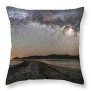 Night In The Black Rock Desert Throw Pillow