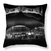 Night At The Circus Number Two Throw Pillow