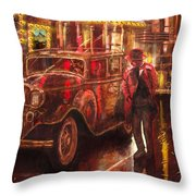 Night At The Movies Throw Pillow