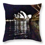 Night At The Opera Throw Pillow